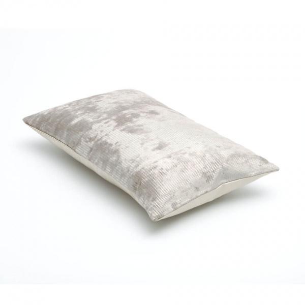 sierkussen grijs - zilvergrijs