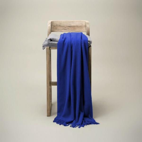 deken donkerblauw