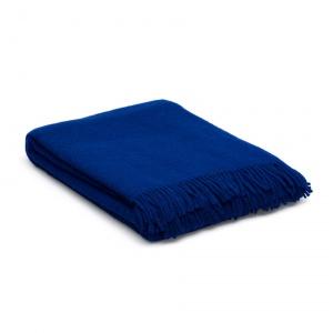 wollen Plaid Ava blauw