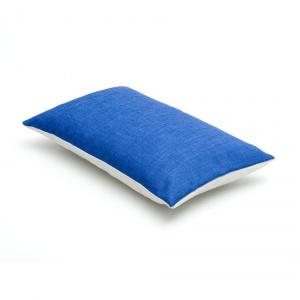 blauw - grijs sierkussen
