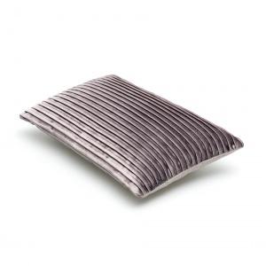 luxe sierkussen in grijs fluweel