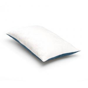 sierkussen Wit - Blauw - marineblauw