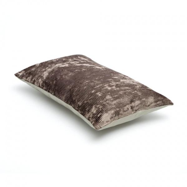Luxe sierkussen mosgroen - donkergroen - zilver