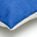 sierkussen blauw grijs