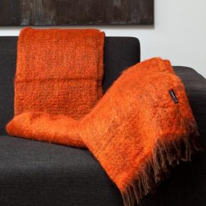 Plaid Oranje - Mohair