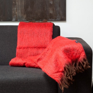 Plaid Rood - Mohair