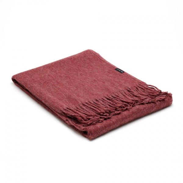 alpaca plaid rood
