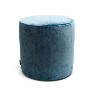 hocker - poef turquoise 40 x 40cm
